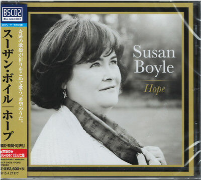 Susan Boyle-Hope-Japan Blu-Spec Cd2 F83