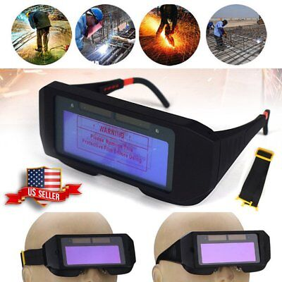 Solar Auto Darkening Safety Protective Welding Glasses Mask Goggles for ARC Work