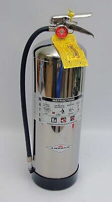 Amerex 240 2.5 Gallon Water Class A Fire Extinguisher Charged
