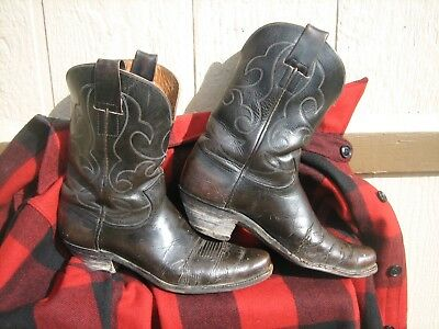 Old Cowboy Boots Made By Hyer Est.1875 Quality Boots Brown Nice West Look