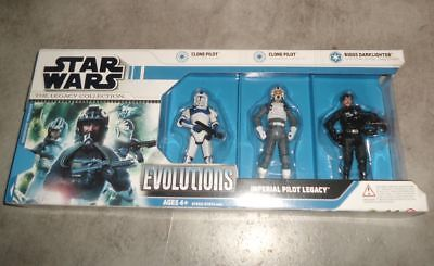 Star Wars - Legacy Collection - Evolutions - Imperial Pilot Legacy - NEW - OV