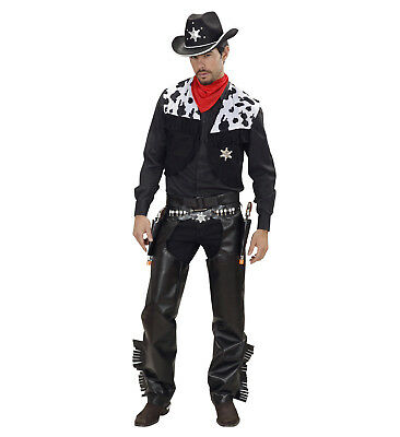 Carnival Costume Adult Cowboy Cow Boy Make West Ps 19821