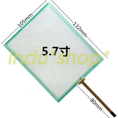New for 5.7-inch resistive touch screen TP177A industrial touch screen glass
