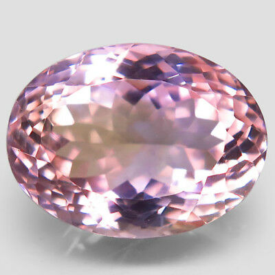 19.53ct.Impressive Gem! 100%Natural Bi Color Ametrine Unheated Bolivia AAA Nr!.