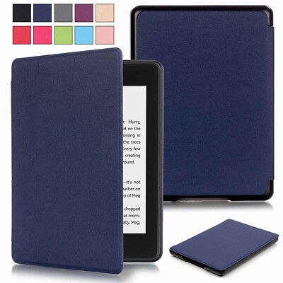 Luxury PU Leather Smart Case Cover For Amazon Kindle Paperwhite 10th Gen 2018