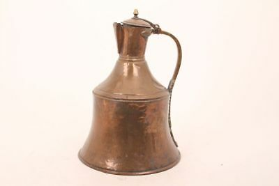 Large Antiquity Copper Jug Water Jug Hand Beaten Copper Can Water Jug Pitcher