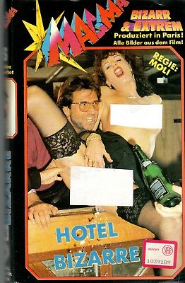 Hotel Bizarre (1995) - VHS Import Germany exnolo
