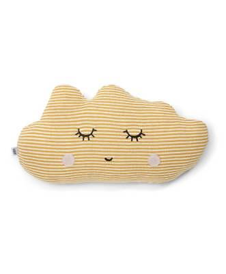 Mamas & Papas Cushion Yellow Cloud