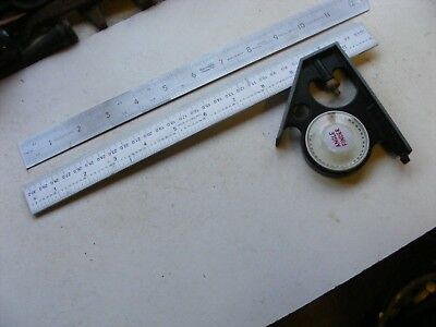 Adjustable Tee Square And Angle Finder. (21142)