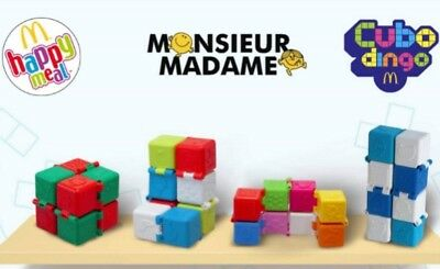 Cubo Dingo N°1 Monsieur Madame, jouet Happy Meal Mc Donald 2019 / état NEUF
