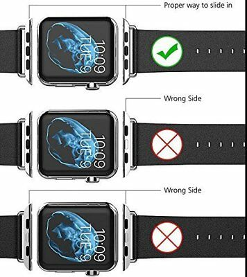 Wrist Band Connection Adapter Watchband Strap Kits For Apple Watch 38 42MM CL