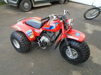 Honda Atc 200S Atv (1984) Red Us Import! Very Rare Easy Project! No Reserve!
