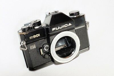 BLACK FUJICA ST801 35mm SLR CAMERA BODY ONLY