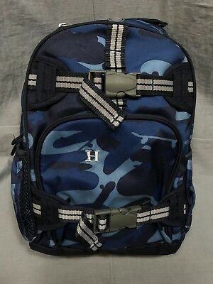 e95a6bd09828 POTTERY BARN KIDS Mackenzie Blue Shark Camo Mini Preschool Backpack ...