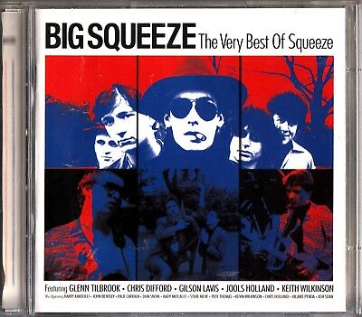 THE BIG SQUEEZE- Very Best Of/Greatest Hits 2 CD- Jools Holland/Glenn Tilbrook
