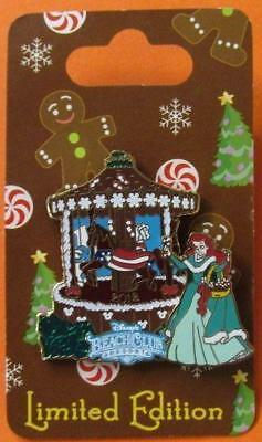 Disney Pin WDW Gingerbread House 2012- Disney's Beach Club Resort - Ariel LE1000