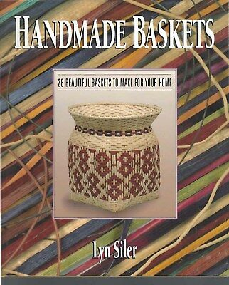 Handmade Baskets Book  144 Pages Hard Cover 28 Beautiful Baskets to Make