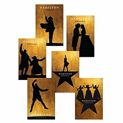 NEW Hamilton Broadway Musical OFFICIAL POSTCARD SET Lin Manuel Miranda