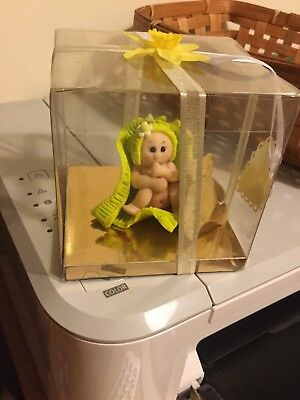 Hand Made Polymer Cute Baby Present
