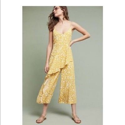 616bba770fba MAEVE ANTHROPOLOGIE YELLOW Brittany Jumpsuit -  58.00