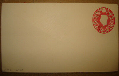 GB unused envelope with embossed George VI 2½ d stamp