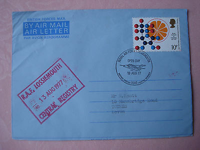 Forces Air Letter `RAF Lossiemouth Open Day August 1977`