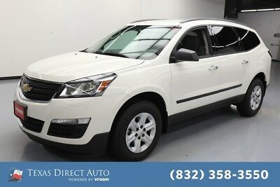 2015 Chevrolet Traverse LS Texas Direct Auto 2015 LS Used 3.6L V6 24V Automatic FWD SUV OnStar