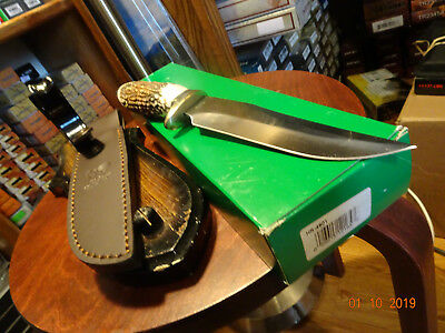 Hen & Rooster Hr--4801 Stag Handle Bowie Knife Big Beautiful Bowie Knife Must Se