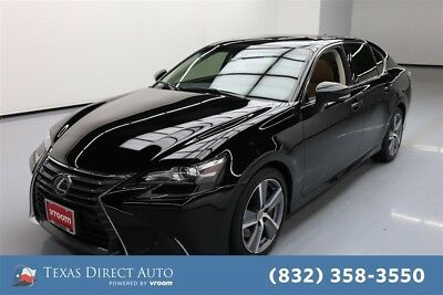 2016 Lexus GS 4dr Sedan Texas Direct Auto 2016 4dr Sedan Used 3.5L V6 24V Automatic RWD Sedan Premium