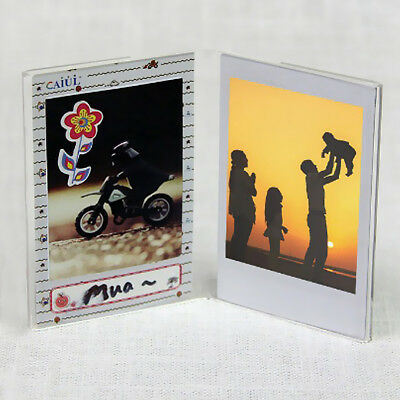"3"" Photos Frame for Fujifilm Instax Mini 9 8+ 7S Film Postcard Ticket Holder"