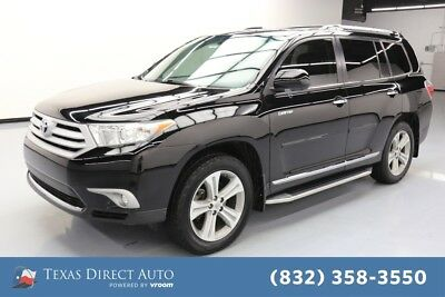 2013 Toyota Highlander Limited Texas Direct Auto 2013 Limited Used 3.5L V6 24V Automatic FWD SUV Moonroof