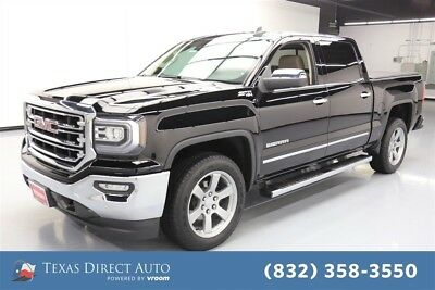 2017 GMC Sierra 1500 SLT Texas Direct Auto 2017 SLT Used 5.3L V8 16V Automatic 4WD Pickup Truck Bose