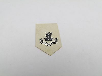 Antique 1700S Crested Embossed Wax Seal Crest Armorial Letter Head Book Plate