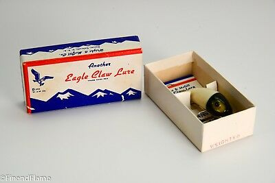 Wright & Mcgill Midget Miracle Minnow Antique Fishing Lure New in Box GH162