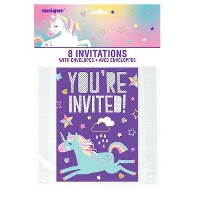 MARIO KART WII INVITATIONS 8 Birthday Party Supplies Stationery Cards Notes