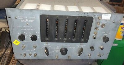 Hp 522B Pre Nixie Tubes Display Decimal Counting Units Electronic Counter