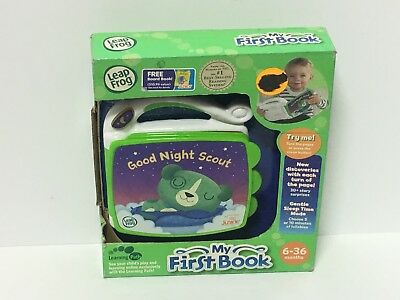 """Leap Frog Learning Path 'my First Book"""" For 6-36 Months Toddlers See Description"""