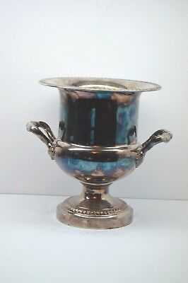 Vintage Silver Plated Champagne Ice Bucket Cooler