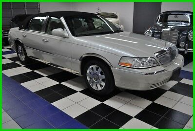 2004 Lincoln Town Car ULTIMATE EDITION - ONLY 48K MILES - OUTSTANDING 2004 Ultimate PEARL WHITE - FLORIDA GARAGED