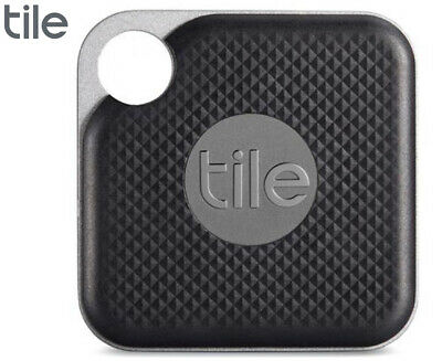 Tile Pro Bluetooth Tracker - Jet Black/Graphite