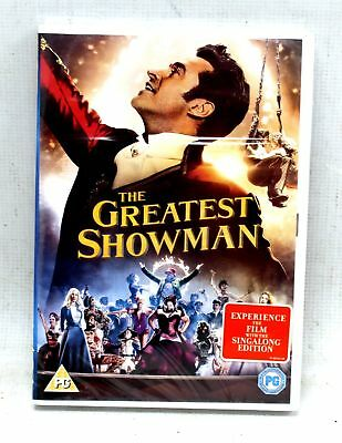 THE GREATEST SHOWMAN: Musical 'Sing Along Edition' DVD / REGION 2 & SEALED - Y99