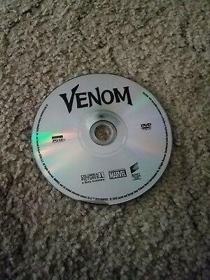 (Venom DVD 2018) disc only