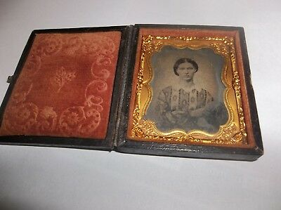 Ambrotype 1/9 Plate, Full Case,