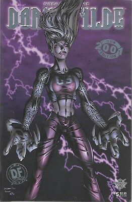 Darkchylde No.5 / 2001 Dynamic Forces Platinum Foil Edition with Certificate