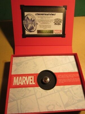 Marvel S.H.I.E.L.D. Sterling Silver.925 RING - In Gift Box SIZE 8 - SHIELD AGENT