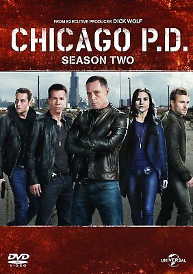 Chicago Pd Season 2 Dvd Brand New Region 2 2014