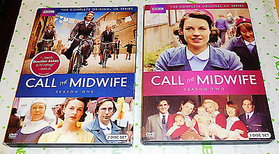 Call the Midwife Season Series 1 & 2 DVD 2012 5 Disc Set Jessica Raine BBC R1