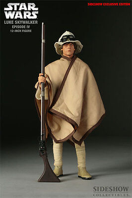 Star Wars~Ep-Iv~Anh~Luke Skywalker~Sixth Scale Figure~Exclusive~Sideshow~Mib