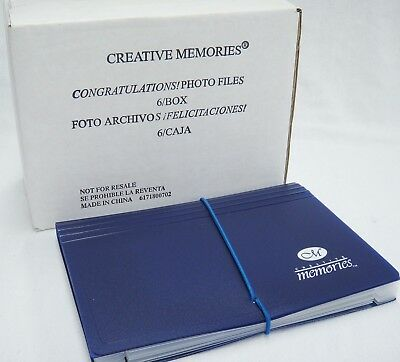 Creative Memories Lot of 6 Photo Files Expandable 7 Compartments Storage NIB