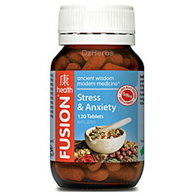 Fusion Health Stress and Anxiety 120 Tablets